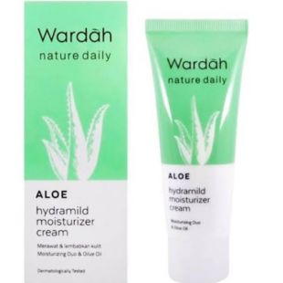Wardah wardah nature daily aloe hydramild mosturizer cream