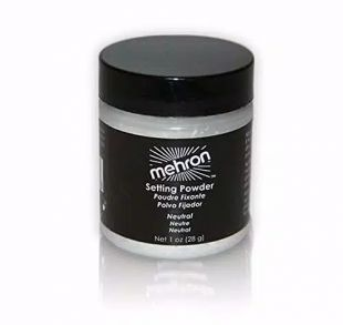Mehron Setting Powder with Anti-Perspirant
