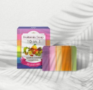 Wink White Fruitamin Soap 10in1