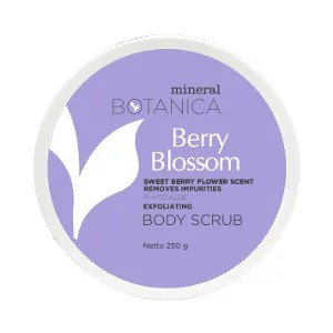 Mineral Botanica Body Scrub Berry Blossoms
