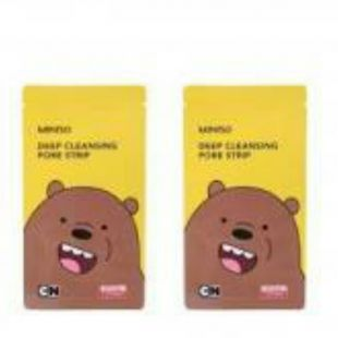 Miniso We Bare Bears Deep Cleansing Pore Strip