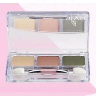 PIXY 3-shades Eyeshadow Green Rhythym