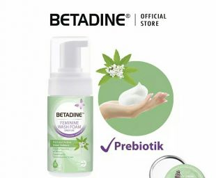 Betadine Betadine Feminine Wash Foam Active and Lemon Verbena