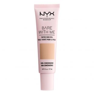NYX Bare With Me Tinted Skin Veil Natural Soft Beige