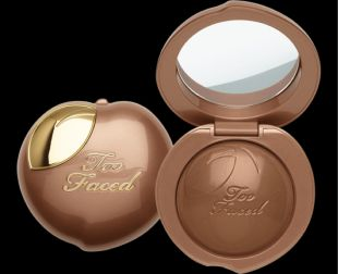 Too Faced BRONZED PEACH MELTING POWDER BRONZER INFUSED WITH PEACH AND SWEET FIG CREAM