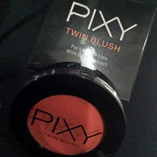 PIXY Pixy Twin Blush 04 Neon Orange