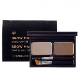 The Face Shop Brow Master eyebrow kit 02 gray brown