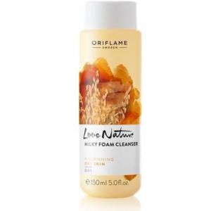 Oriflame Love Nature Milky Foam Cleanser Oat