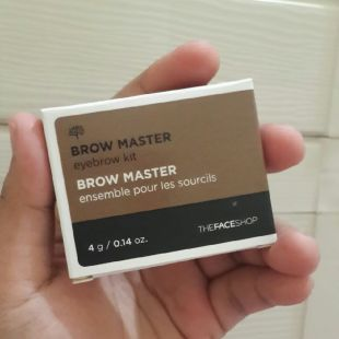 The Face Shop brow master eyebrow kit beige brown