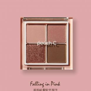 Peach C Peach C Falling in Eye Shadow Palette Falling in Pink
