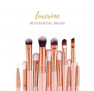 Luxcrime Eyesential Brush Set