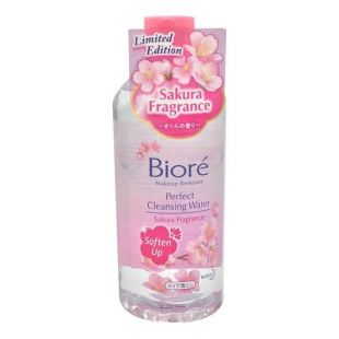Biore Perfect Cleansing Water Sakura Fragrance
