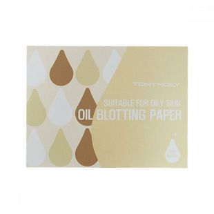 Tony Moly Oil Blotting Paper Suitable For Oily Skin