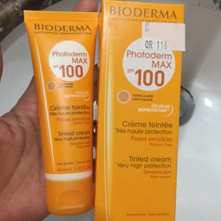 Bioderma Photoderm Max spf 100 Tinted Cream Light Colour