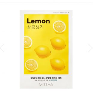 Missha Airy Fit Sheet Mask Lemon