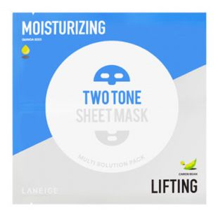 Laneige Two Tone Sheet Mask Moisturizing & Lifting