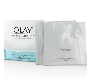 Olay Olay light perfecting stretch mask White radiance