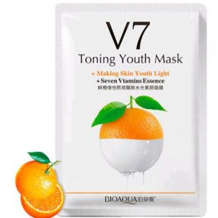 Bioaqua V7 Toning Youth Mask Orange