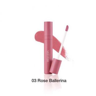 Wardah Colorfit Velvet Matte Lip Mousse 03 Rose Ballerina