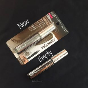 Maybelline Maybelline brow precise fiber volumizer medium brown