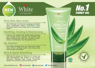 Viva Cosmetics Viva White Soothing Aloe Gel