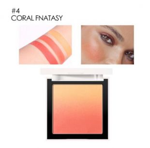 Focallure Silky Powder Ombre Blush 04 Coral Fantasy