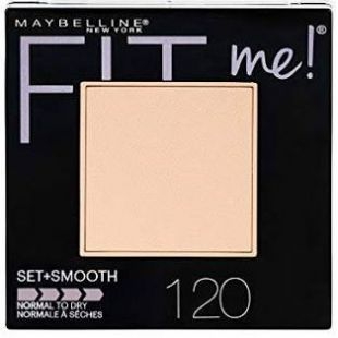 Maybelline Fit Me Set + Smooth Powder 120 Classic Ivory