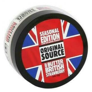 Original Source Seasonal Edition Body Butter British Strawberry