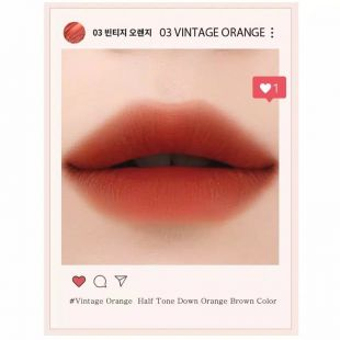 EGLIPS Velvet Fit Tint Vintage Filter No. 3 Vintage Orange