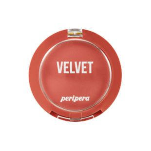 Peripera Pure Blushed Velvet Cheek 08 Appealing Dry Coral