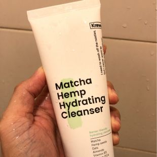 Krave Beauty Matcha Hemp Hydrating Cleanser Hydrating Cleanser