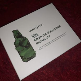 Innisfree Green tea seed serum special kit Green tea seed