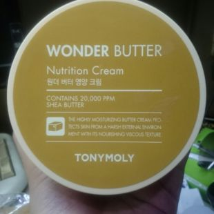 Tony Moly Wonder Butter Nutrition Ceam