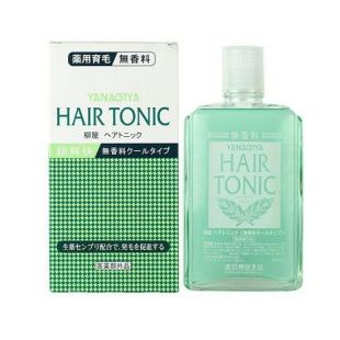 Kaminomoto Yanagiya hair Tonic Fragrance Free Cool Cool type/Green