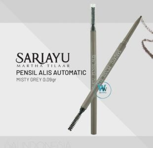 Sariayu Automatic Eyebrow Pencil Misty Gray