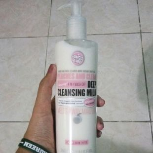 Soap & Glory Peaches and Clean Amazing! 4 in 1 wash off Deep Cleansing Milk