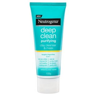Neutrogena Neutrogena Deep Clean Clay Cleanser and Mask