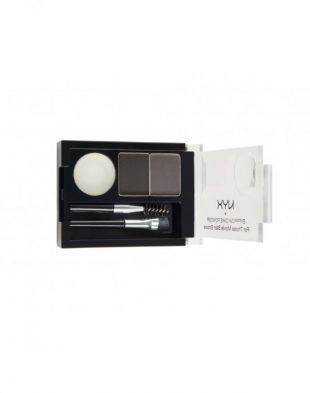NYX Eyebrow Cake Powder ECP01 Black/Gray