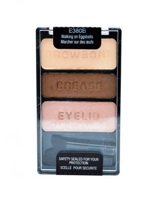 Wet n Wild Color Icon Eyeshadow Trio Walking on Eggshells