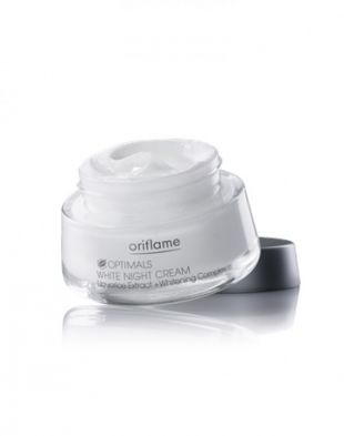 Oriflame Optimal White Night Cream whitening