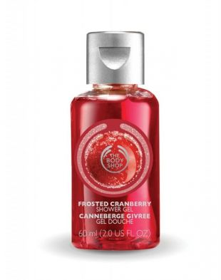 The Body Shop Frosted Cranbery Shower Gel 60ml
