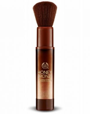 The Body Shop Honey Bronze Brilliance Powder Cooper Shimmer