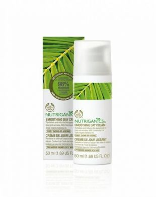 The Body Shop Nutriganics Smoothing Day Cream