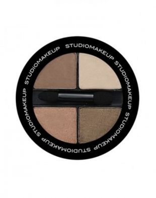 Studiomakeup Eyeshadow Quad SEK05 Nude Illusion