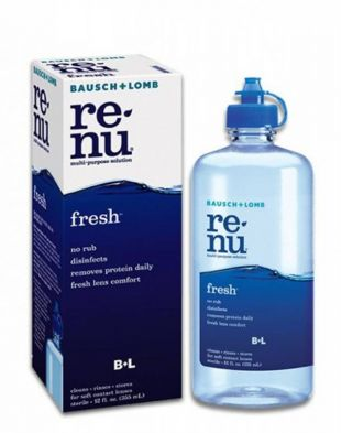 Bausch + Lomb Renu Multi Purpose Solution Fresh
