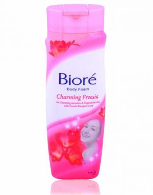 Biore Body Foam Charming Freesia