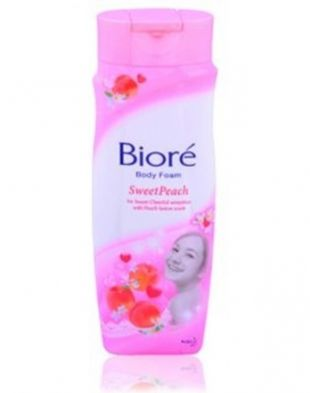 Biore Body Foam Sweet Peach