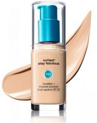 Covergirl Outlast Stay Fabulous 3-in-1 Foundation 832 Nude Beige