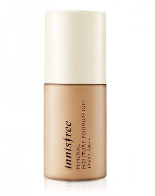 Innisfree Mineral moisture foundation SPF 34 W 3