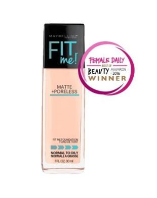 Maybelline Fit Me! Matte + Poreless Foundation 332 Golden Caramel